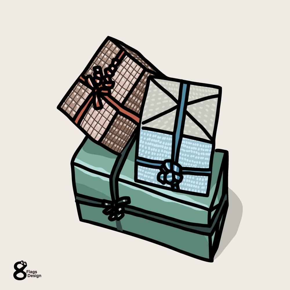 プレゼントボックスのキャッチ画像