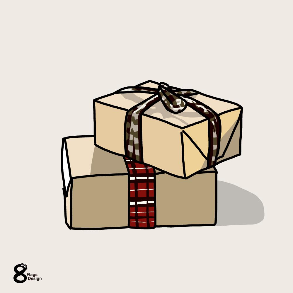 プレゼントボックス(2個)のキャッチ画像
