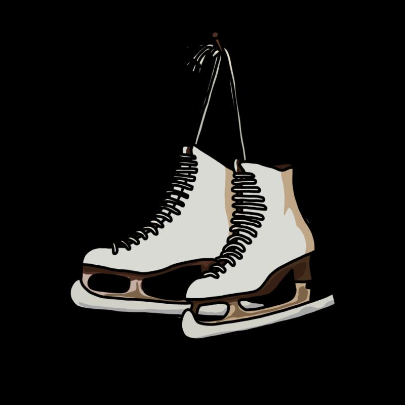 スケート靴ホワイト