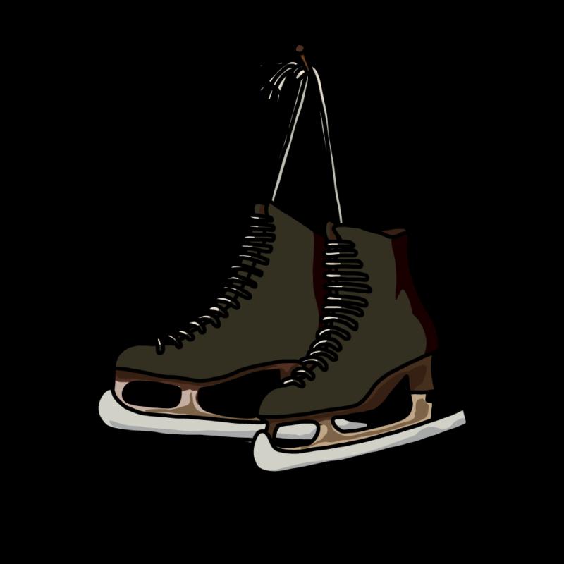 スケート靴黒