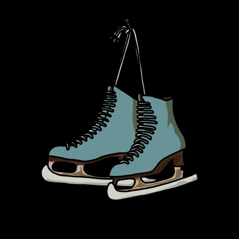 スケート靴グリーン