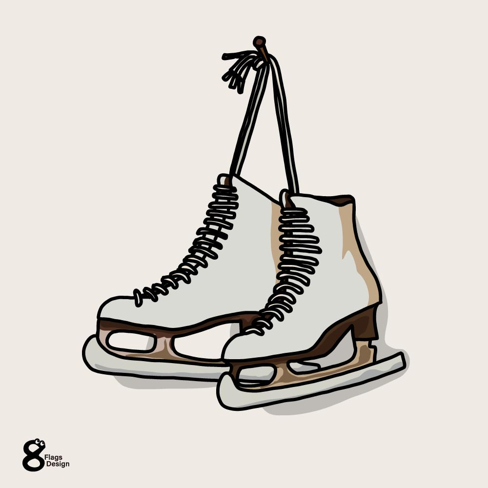 スケート靴のキャッチ画像