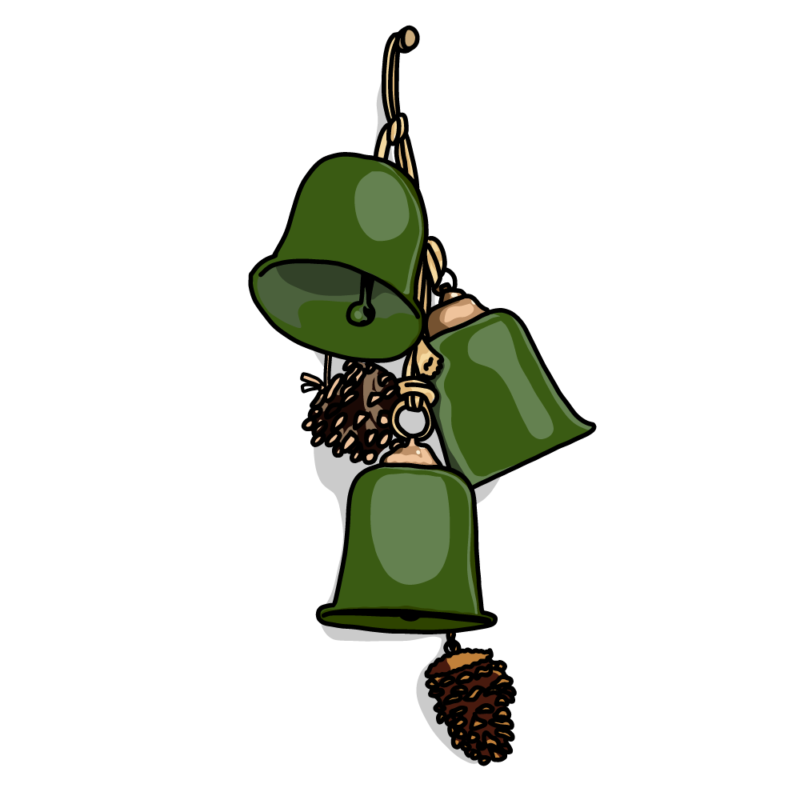 クリスマスのベルグリーン