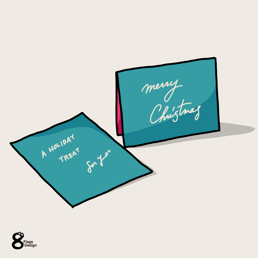 クリスマスカードのキャッチ画像