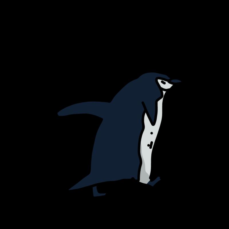 走るヒゲペンギンノーマル