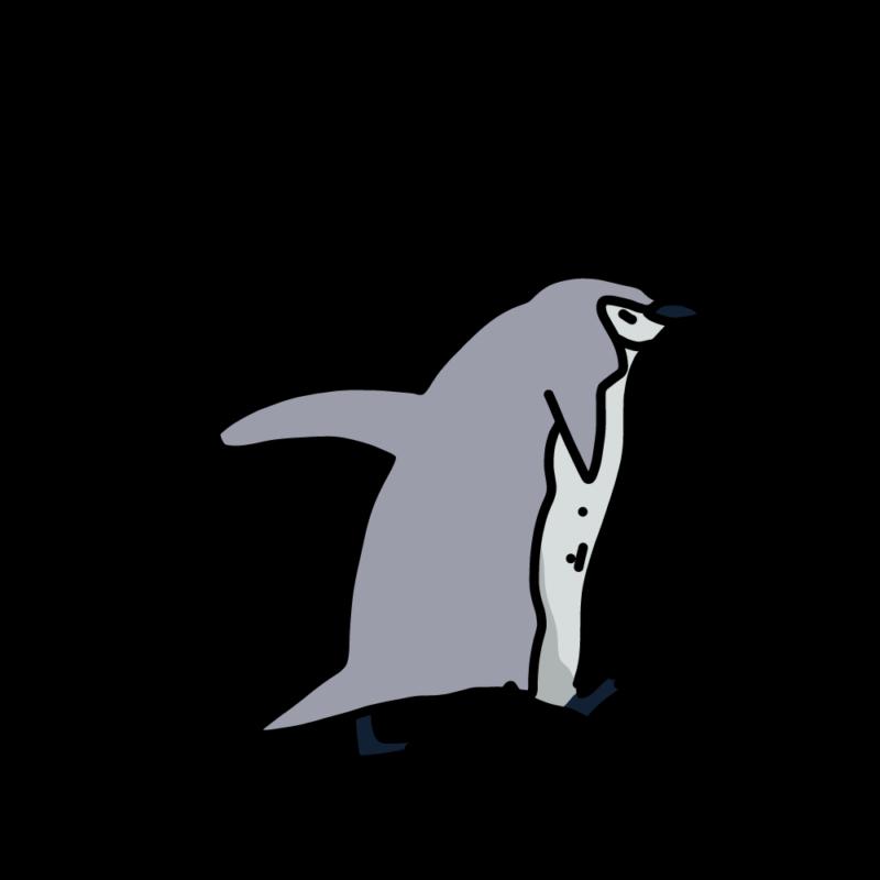 走るヒゲペンギンライト