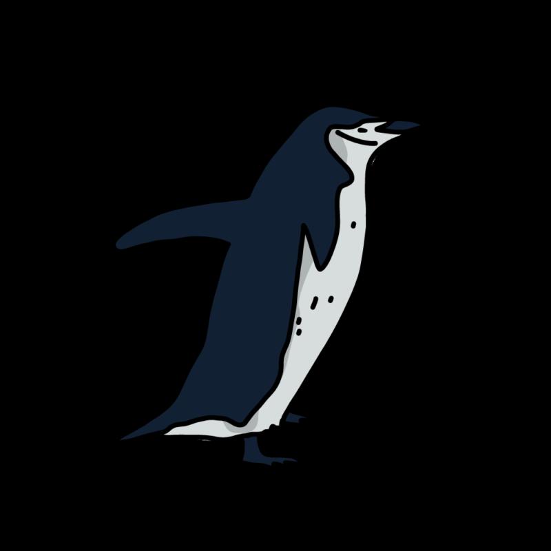 羽ばたくヒゲペンギンノーマル