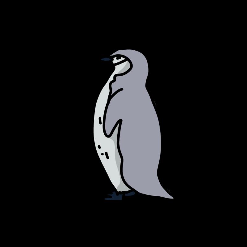 絶句するペンギングレー