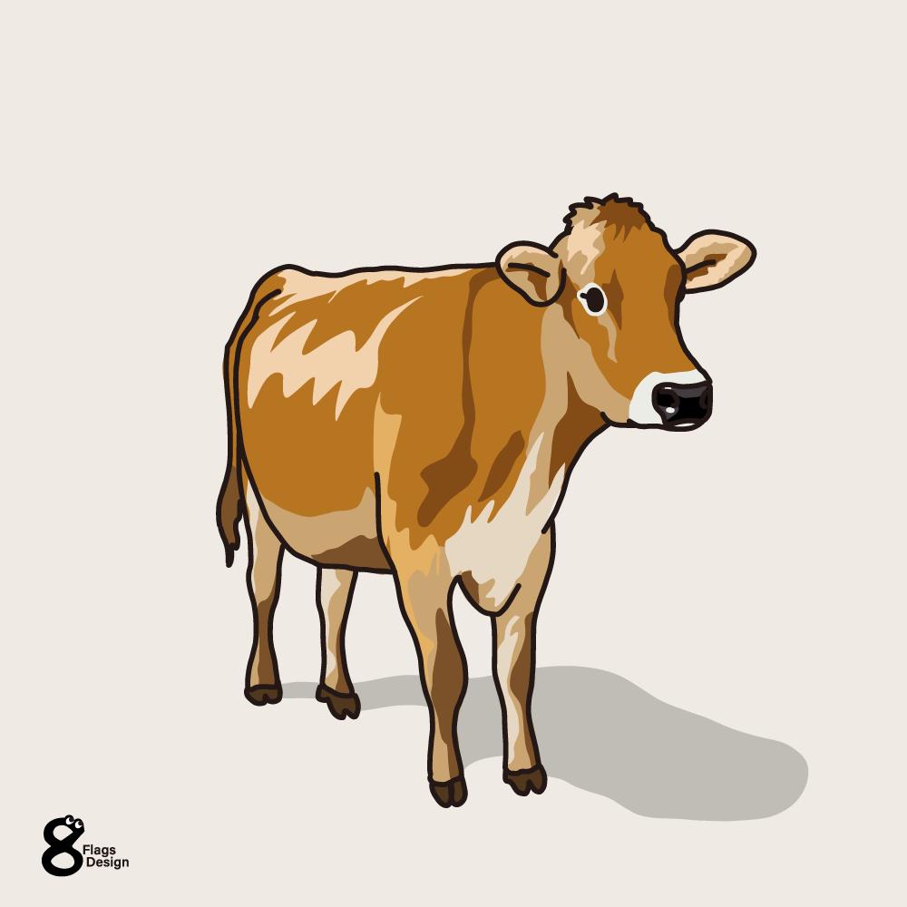 ジャージー牛のキャッチ画像