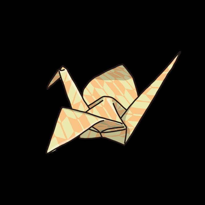 折り紙オレンジ