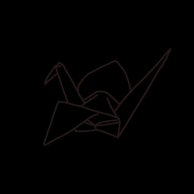 折り紙ライン