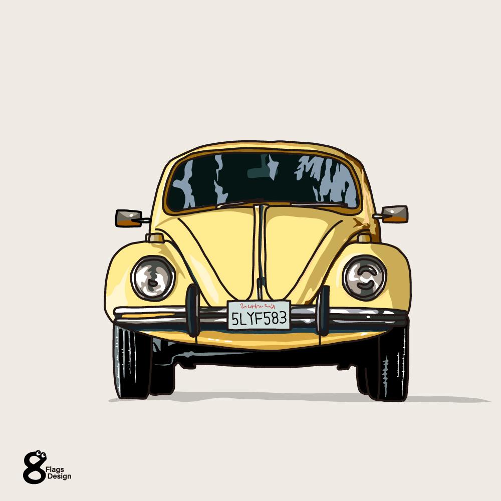 車(正面)のキャッチ画像