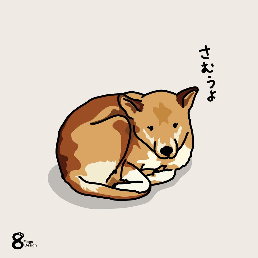 さむさむ犬のキャッチ画像