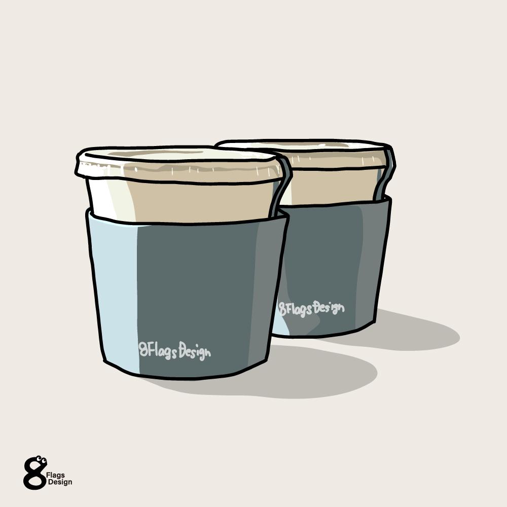 カップアイスのキャッチ画像