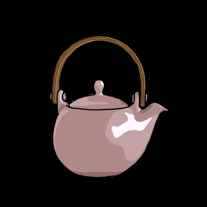 茶瓶ピンク