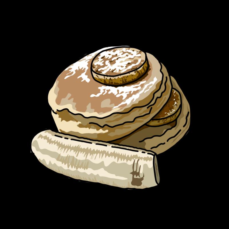 パンケーキチョコ