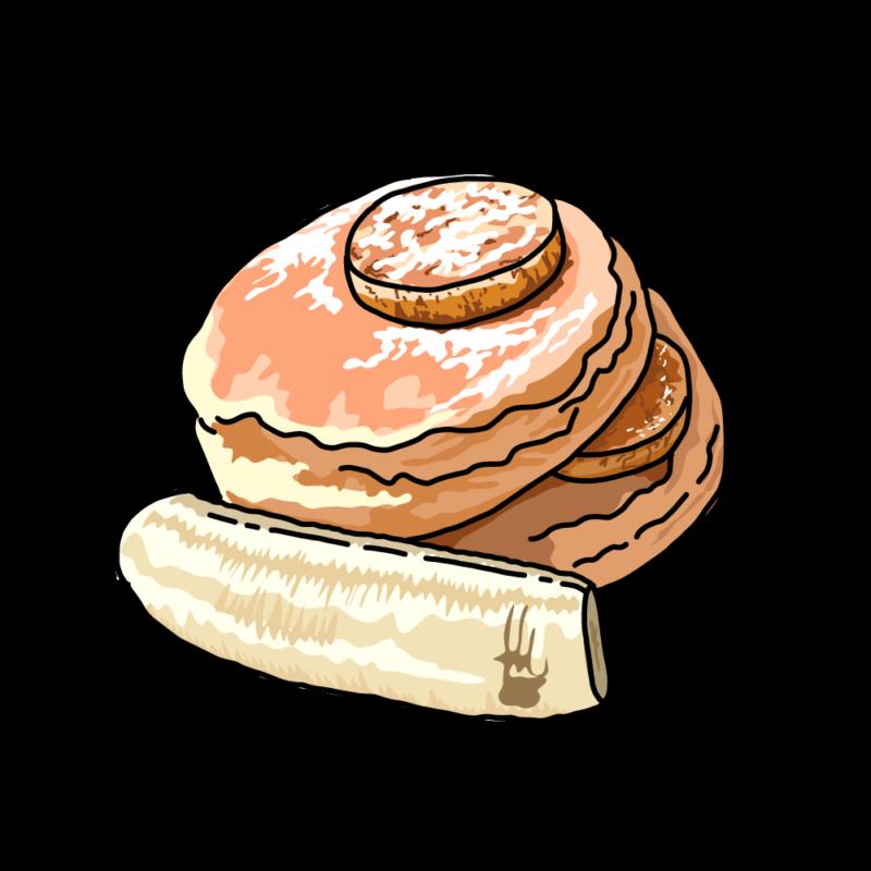 パンケーキストロベリー