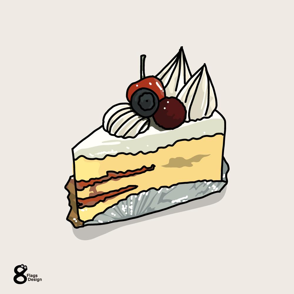 ショートケーキのキャッチ画像