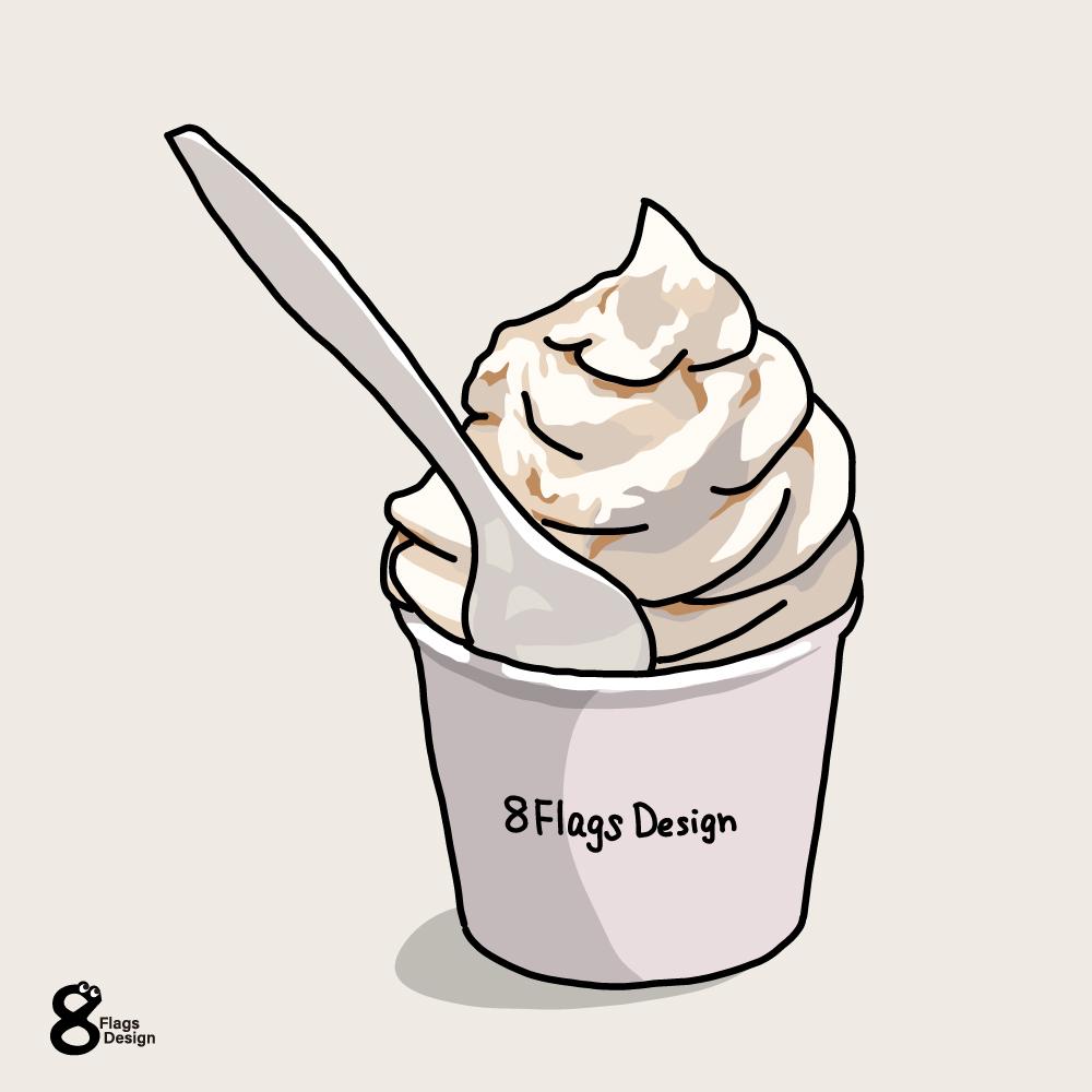 ソフトクリームのキャッチ画像