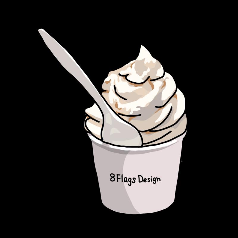 ソフトクリームバニラ