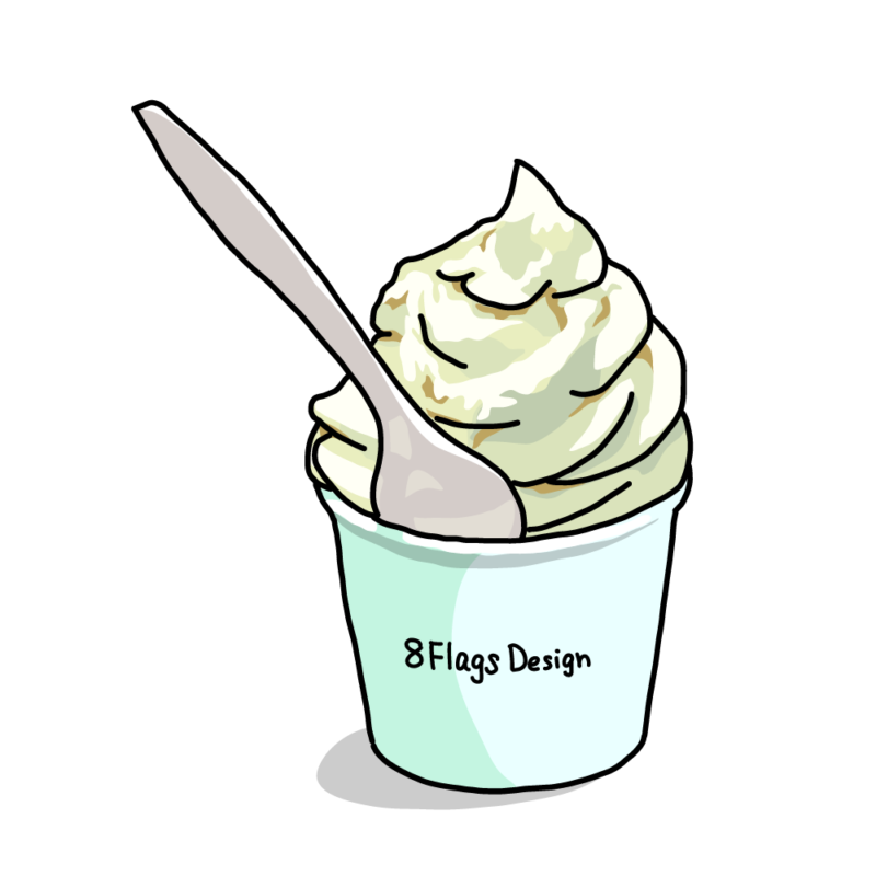 ソフトクリームミント