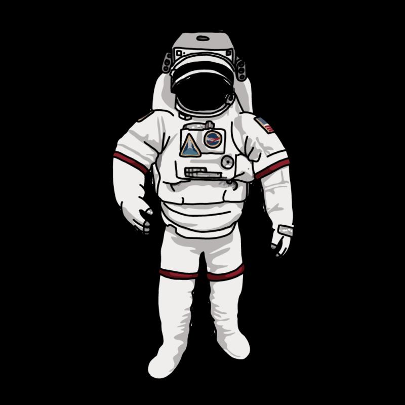 宇宙服かお抜きノーマル