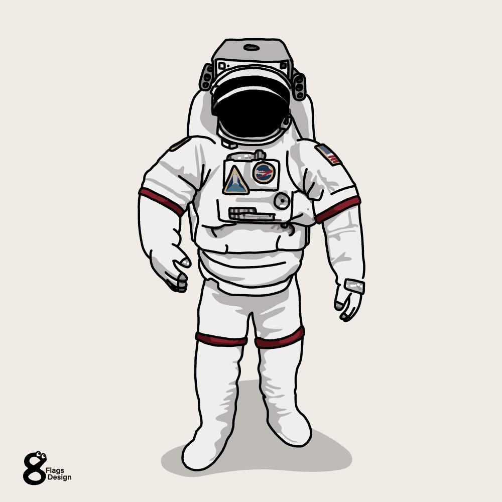 宇宙服のキャッチ画像