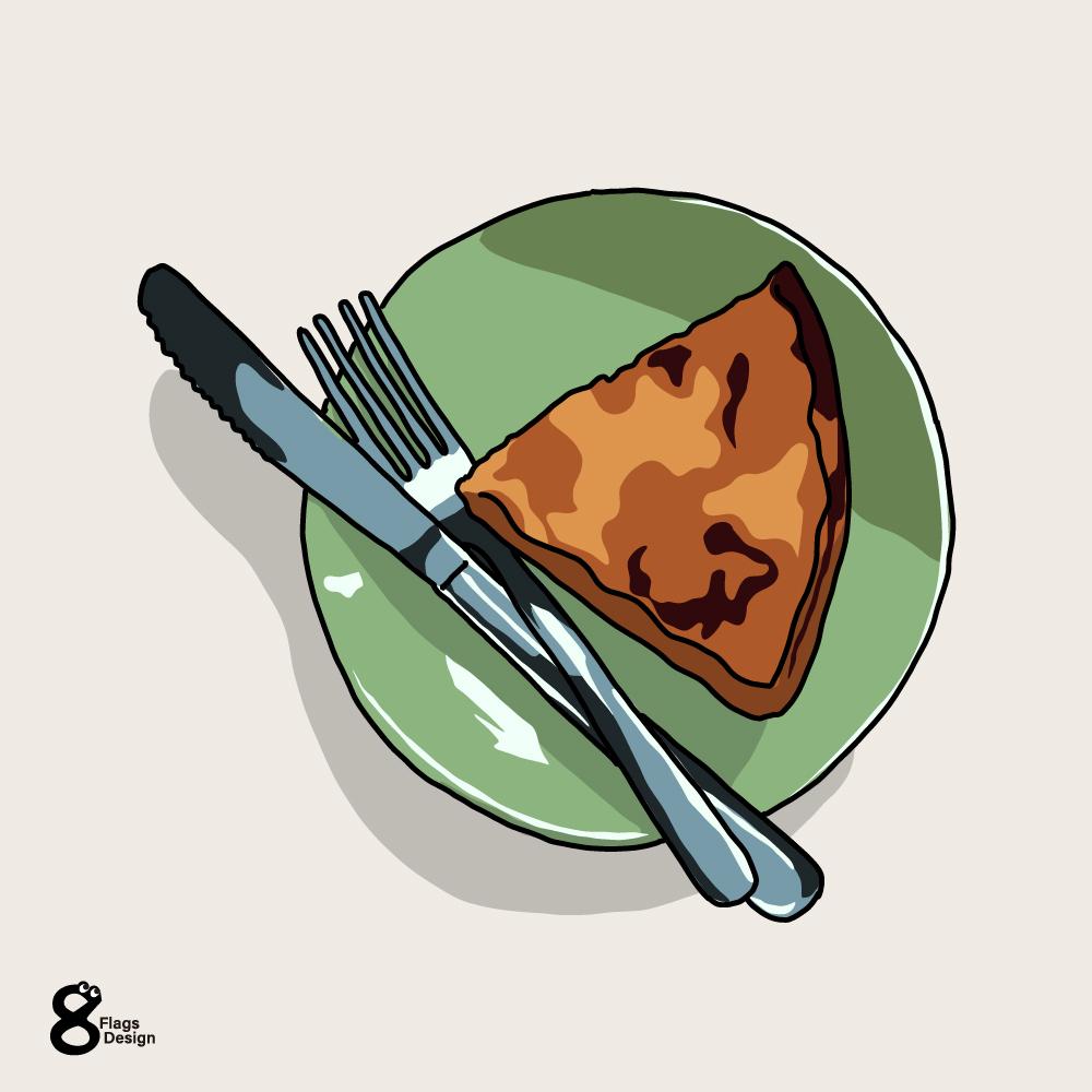 チーズケーキ(ベイクド)のキャッチ画像