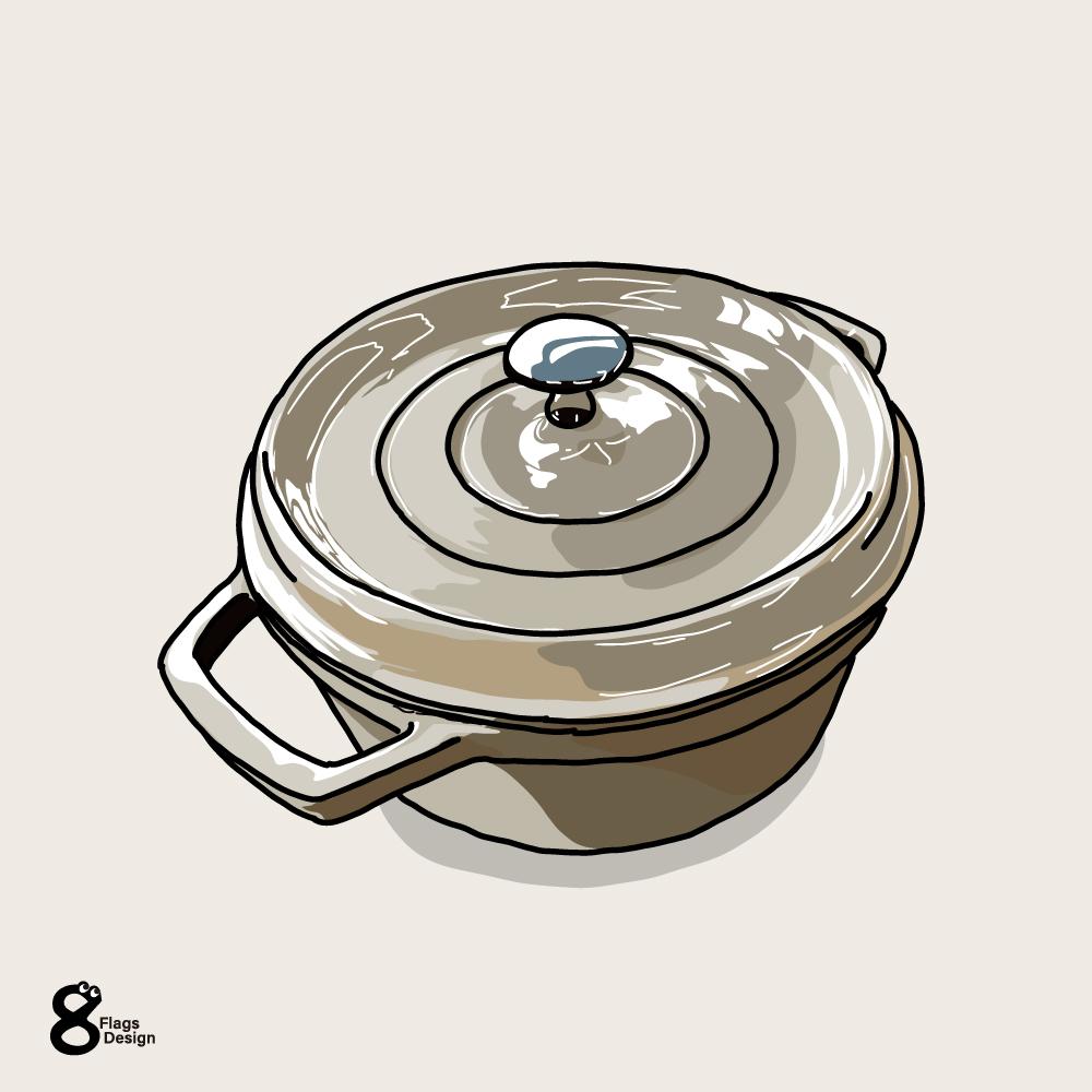鍋(斜めから)のキャッチ画像