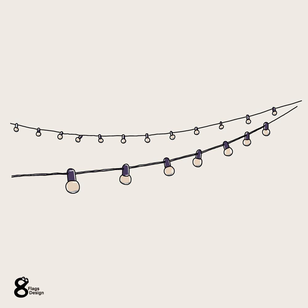 電飾のガートランド(2)のキャッチ画像