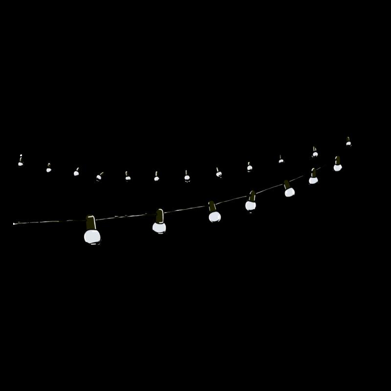 電飾のガートランド(2)黒