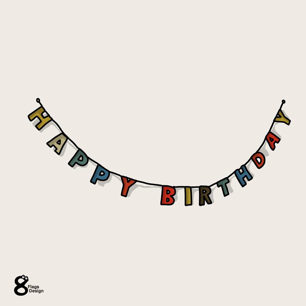 誕生日のガートランドのキャッチ画像