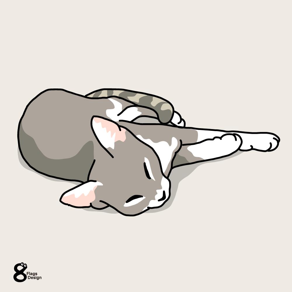 くったりネコちゃんのキャッチ画像