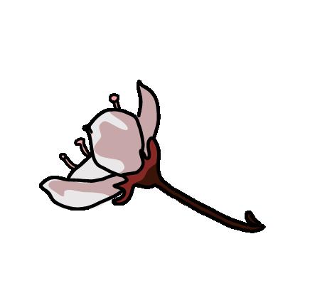 桜フレーク横
