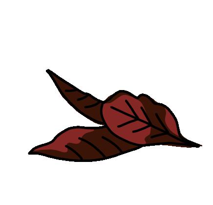 桜フレーク葉っぱ