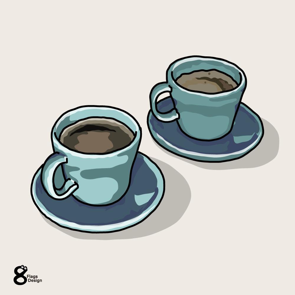 コーヒーと紅茶のキャッチ画像