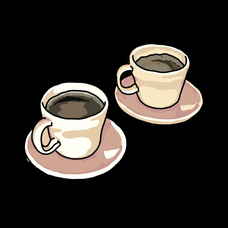 コーヒーと紅茶ホワイト