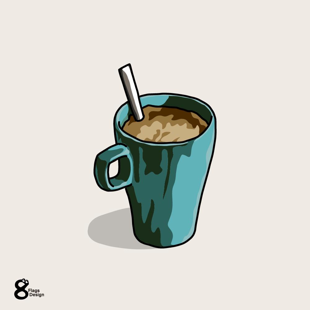 朝のコーヒーのキャッチ画像