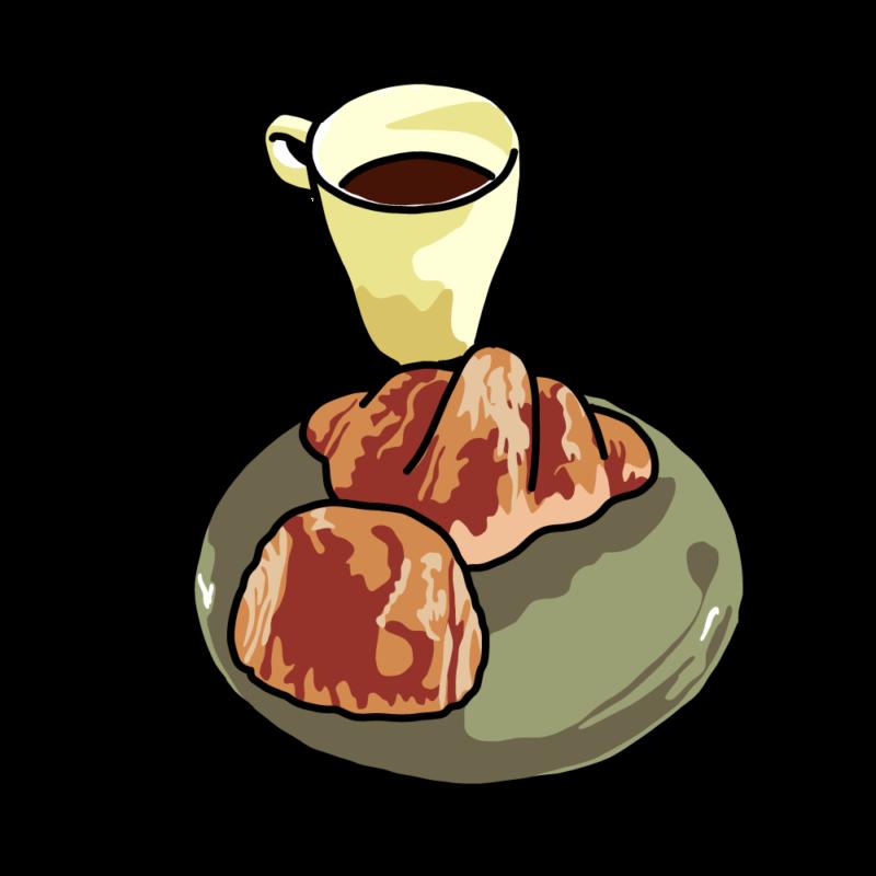 パンとコーヒーグリーン