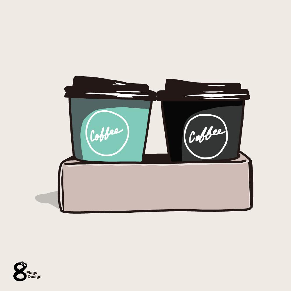 テイクアウトボックスコーヒーのキャッチ画像