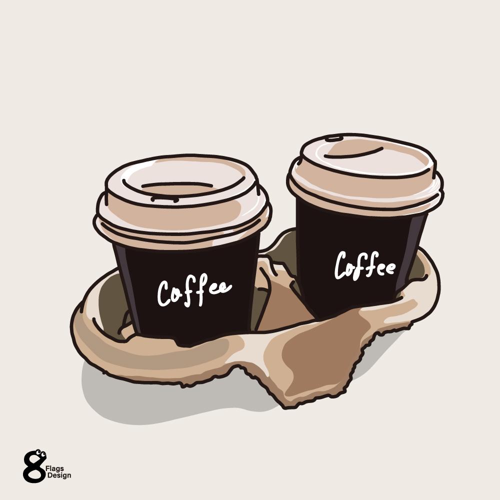 テイクアウトパックコーヒーのキャッチ画像