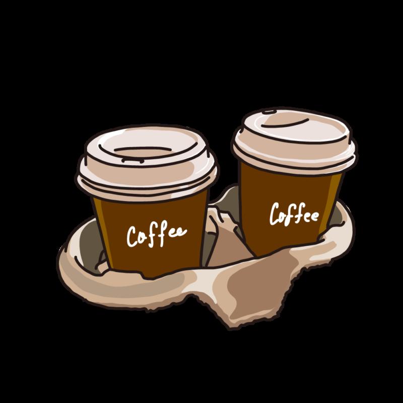 テイクアウトパックコーヒー茶