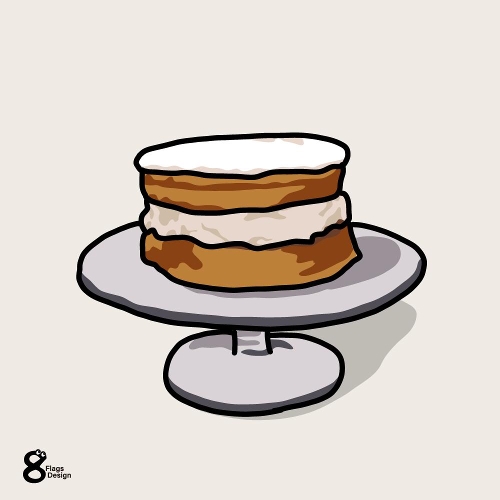 スポンジケーキのキャッチ画像