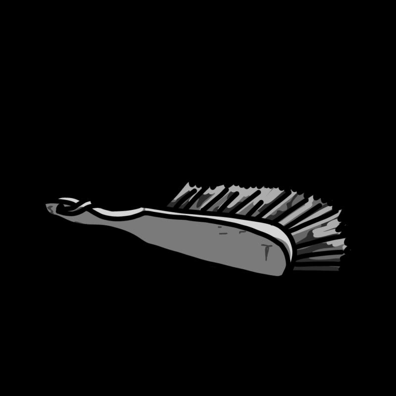 ブラシモノクロ