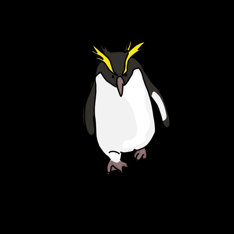 やる気みなぎるイワトビペンギンノーマル