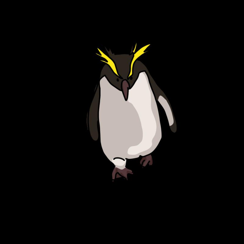 やる気みなぎるイワトビペンギンダーク