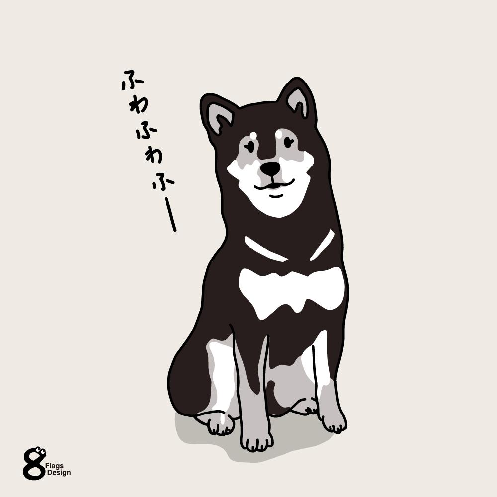フワフワ柴犬のキャッチ画像