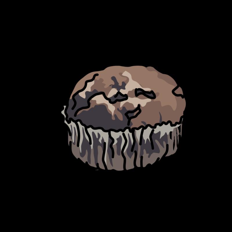 チョコチップマフィンダーク