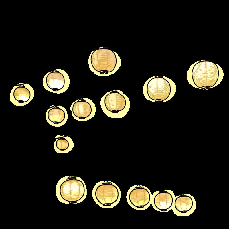 提灯のガーランド0105