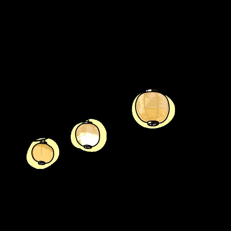 提灯のガーランド0101